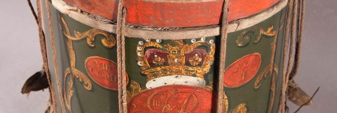 Scottish drum after conservation