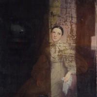 19th Century Portrait during treatment