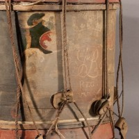 Scottish drum detail--before
