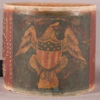 American drum before cleaning