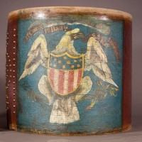 American drum after cleaning