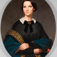 19th Century Portrait after treatment