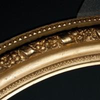 Gilded frame after conservation