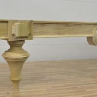 Pier mirror base designed and built by Jim Horne, furniture builder and restorer